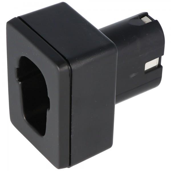 Laadadapter geschikt voor Metabo 4,8 - 12 volt batterij LA-MT01