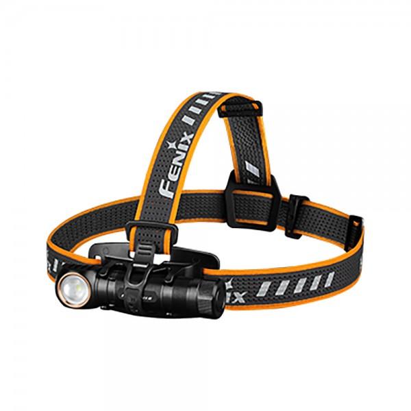 Fenix HM61R LED-koplamp met max. 1200 lumen helderheid, dubbele lichtbron, 3in1 gebruik, inclusief Fenix ARB-L18-3500 batterij