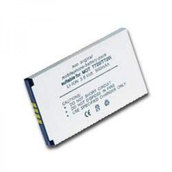 AccuCell-batterij geschikt voor MOTOROLA T720- T720i, BLS8550, BLX8570