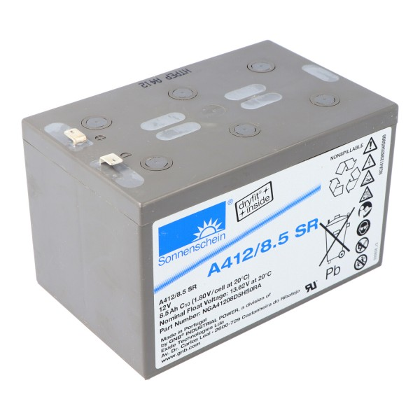 Sonnenschein Dryfit A412 / 8.5SR loodbatterij PB 12Volt 8.5Ah