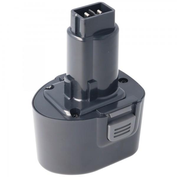 Accu geschikt voor Dewalt DE9057, DE9085, DW9057 7.2V NiMH 2.0Ah