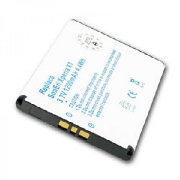 Batterij geschikt voor Sony Xperia X1, Xperia X2, X10, BST-41 batterij