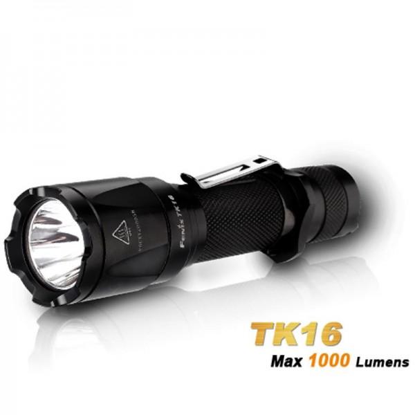 Fenix TK16 Cree XM-L2 U2 LED-zaklamp met maximaal 1000 lumen