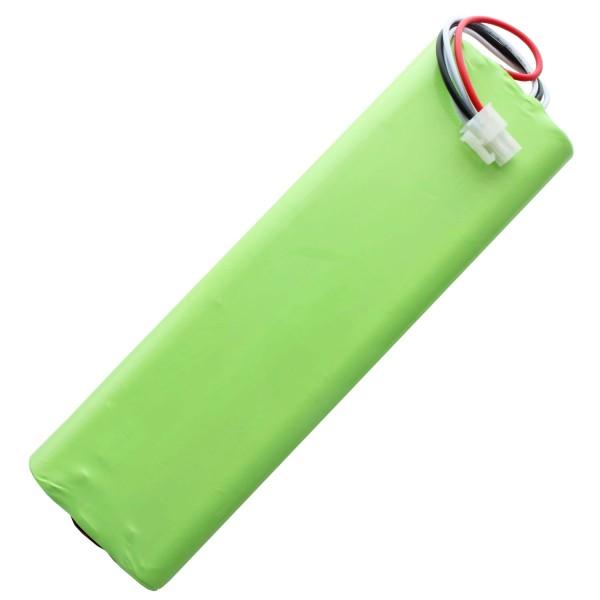 Batterij geschikt voor Husqvarna 1128621-01, 1128621-01 / 6, 3Ah NiMH