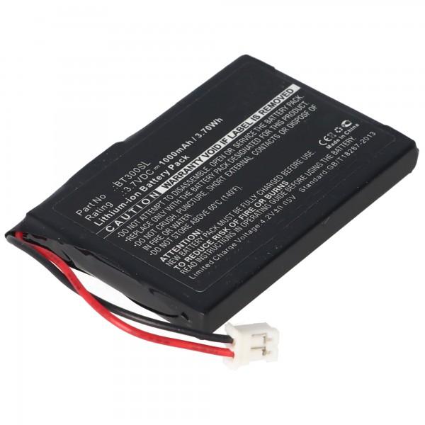 AccuCell-batterij geschikt voor HP GPS BT, 1350mAh