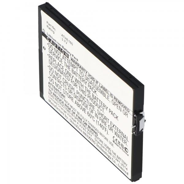 AccuCell-batterij geschikt voor HTC Advantage, P / N ATHE160, 2200mAh