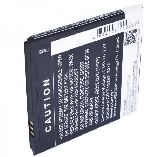 Batterij geschikt voor BQ Aquaris 4 batterij B45, BT-1500-252 Li-Polymer 3.8 volt 1700mAh