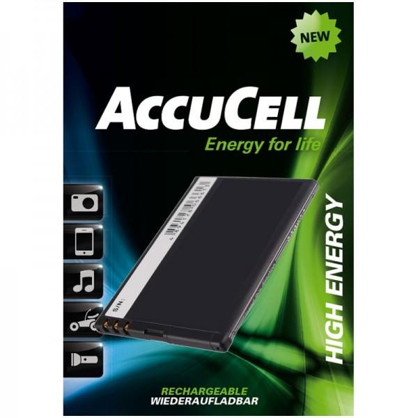 AccuCell-batterij geschikt voor Nokia 808 PureView, N9
