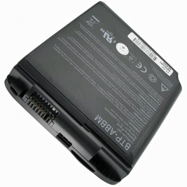 Batterij geschikt voor Medion MD95800, 40011354, BTP-AABM, BTP-ABBM