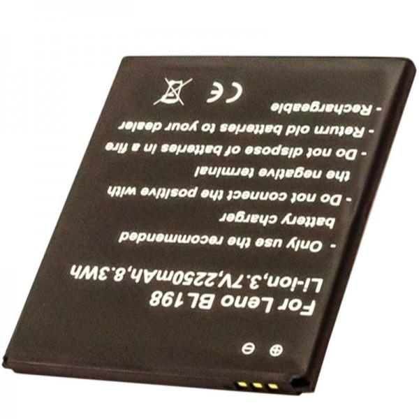 Batterij geschikt voor de LENOVO BL198 batterij 5B19A4682G, A850, K860, K860i, S880, S880i, S890