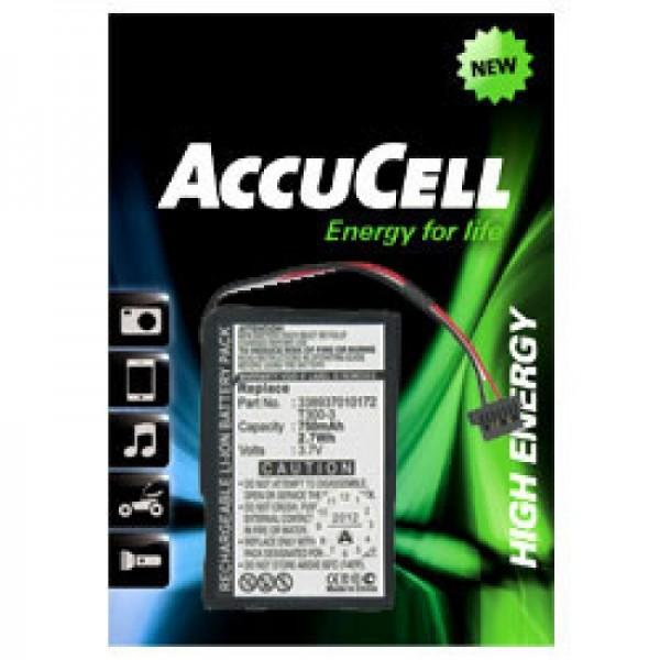 Accu geschikt voor MITAC Mio Moov 400, Moov 405, 3389370172