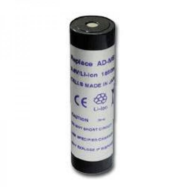 AccuCell-batterij geschikt voor Kyocera BP-1600, Sanyo NB-111