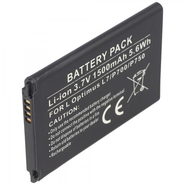 AccuCell-batterij geschikt voor LG Optimus L7, Optimus P700, BL-44JH