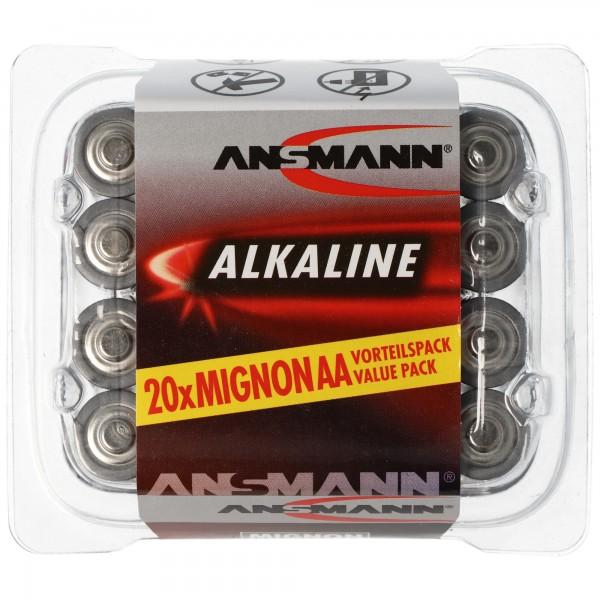 Ansmann RED Alkaline Mignon / LR06 20-pack