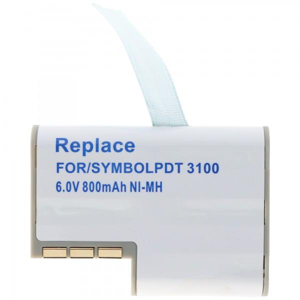 AccuCell-batterij geschikt voor Symbol PDT3100, 3110, 3120, 3140, 3142