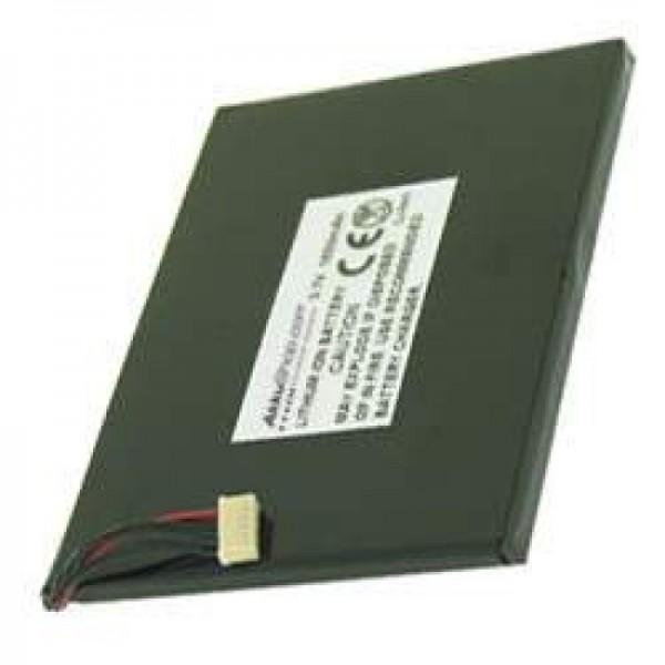 AccuCell-batterij geschikt voor Asus MyPal A620, 1500mAh