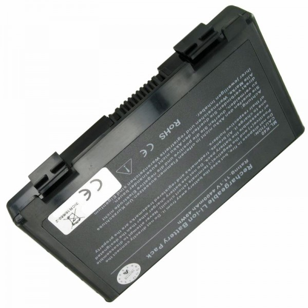 AccuCell-batterij geschikt voor Asus A32-F82, 11.1V met 5200mAh