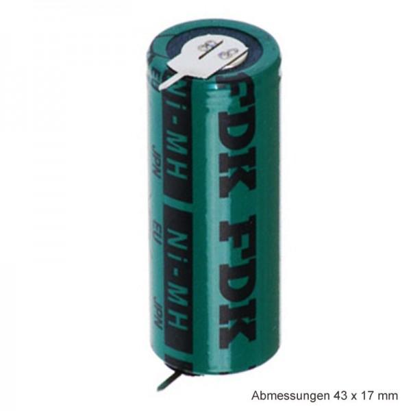 Sanyo HR-4 / 5AU NiMH-batterij 4 / 5A met dubbelzijdige bedrukking aan beide zijden