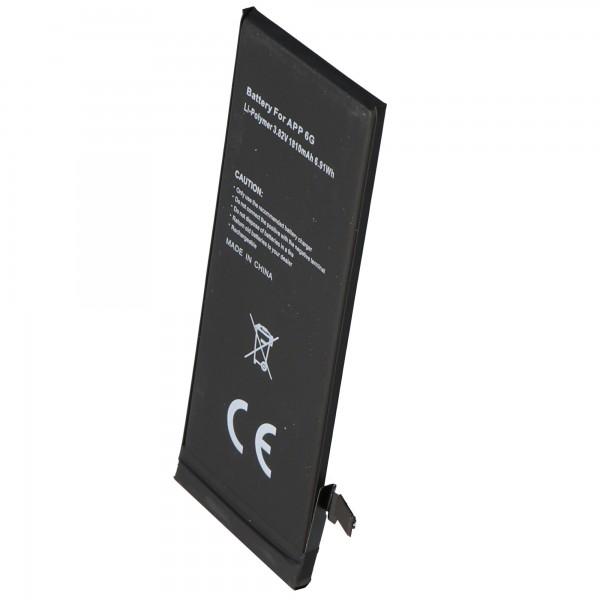 AccuCell-batterij geschikt voor de Apple iPhone 6-batterij voor zelfinstallatie