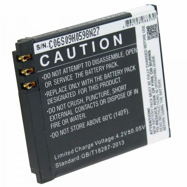 Batterij geschikt voor mobiele telefoon batterij Swissvoice MP50 batterij 061024
