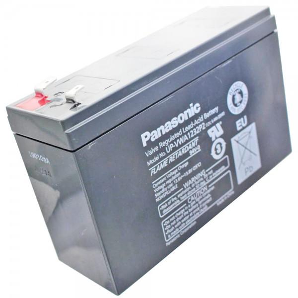 Panasonic UP-RW1220P1 accukabel 12Volt 4Ah, NIEUW nu UP-VWA1232P2