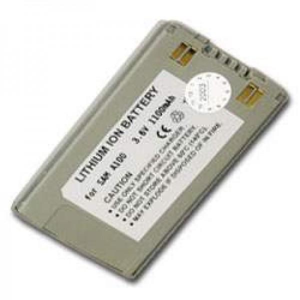 AccuCell-batterij geschikt voor Samsung SGH A100, A110, 1100mAh